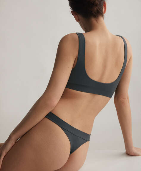 Seamless Comfort hipster thong