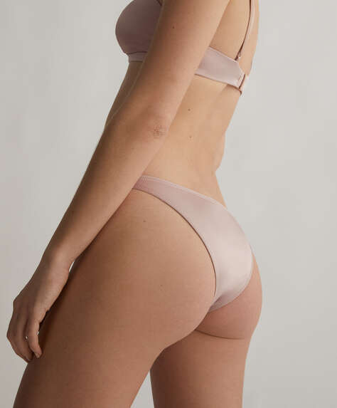 Brazilian satin briefs