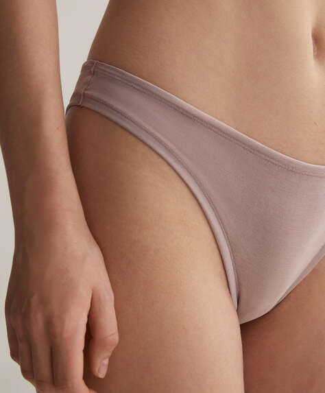 Soft touch Brazilian briefs