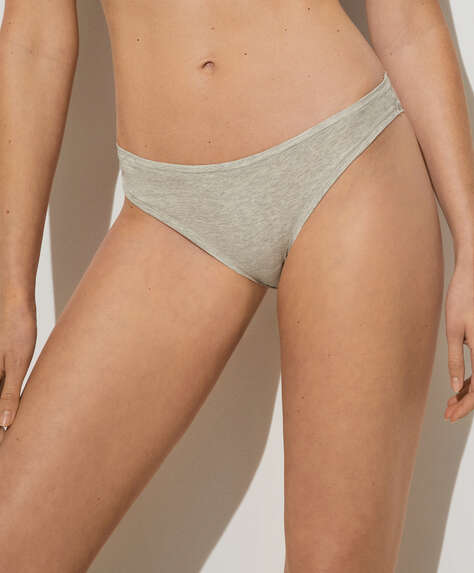 Cotton comfort Brazilian briefs
