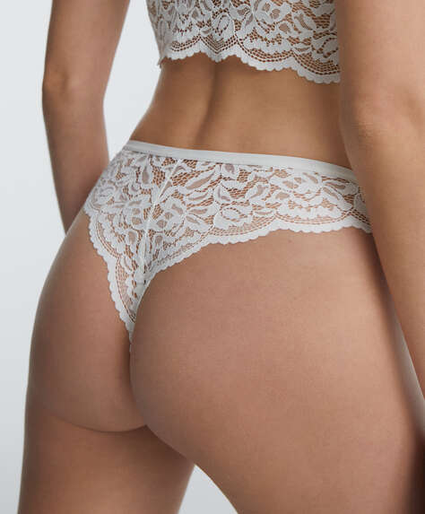 Lace Brazilian briefs