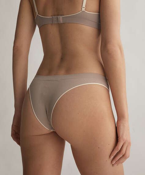 Seamless Comfort Brazilian briefs