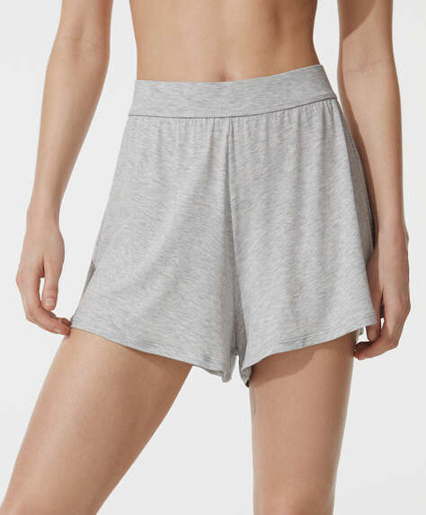Plain soft touch shorts