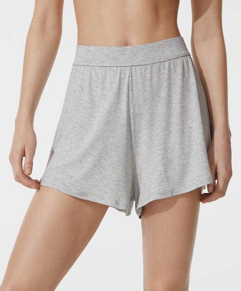 Plain soft touch shorts