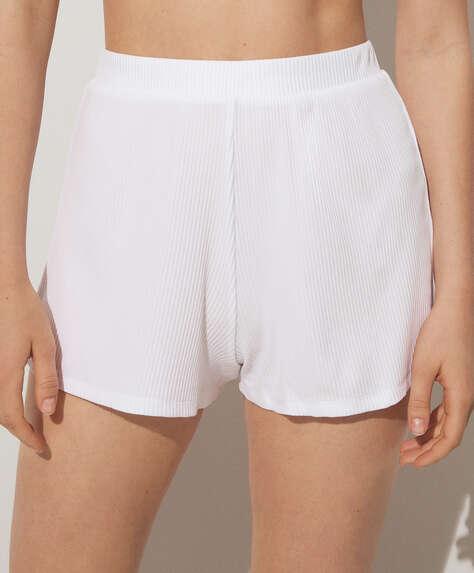 Rib lounge shorts