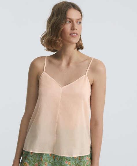 Camisa tirantes 100% algodón