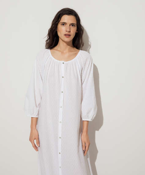 100% cotton plumeti tunic
