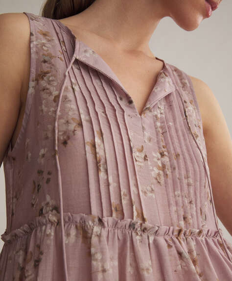 Cotton cherry nightdress