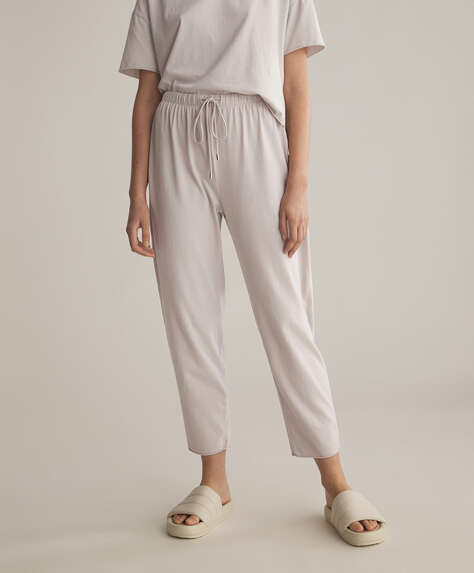Cotton relax culottes