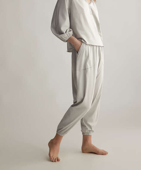 100% cotton harem trousers