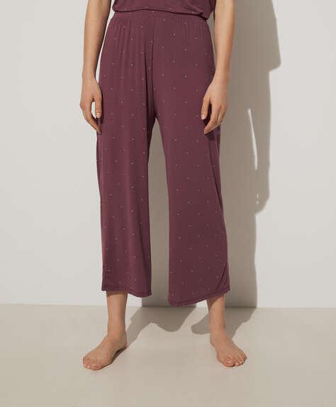 Plain soft touch trousers