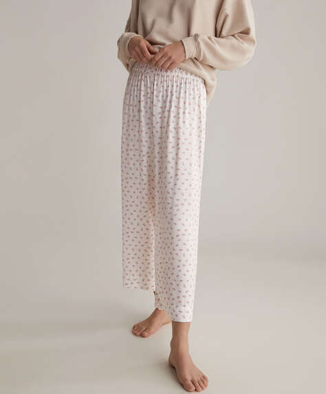 Ditsy floral trousers