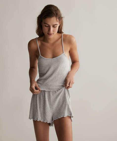 Comfort feel plain shorts