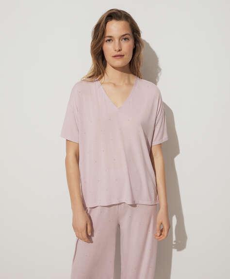 Ditsy floral modal T-shirt