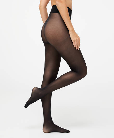 Plain 30 denier tights