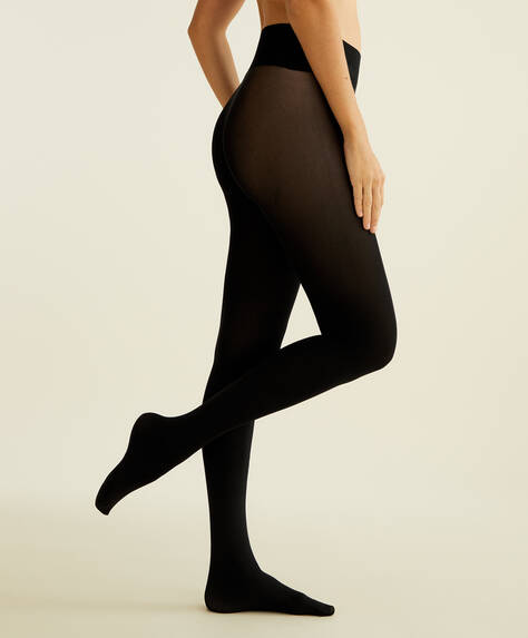 90 DEN seamless tights