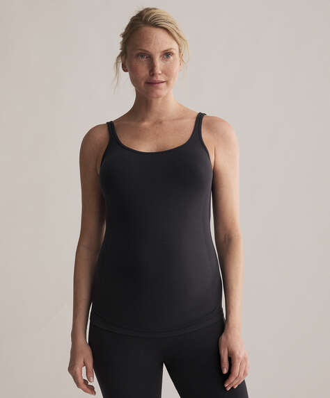 Seamless maternity vest top