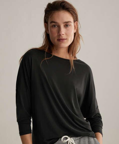 Lang T-shirt i modal
