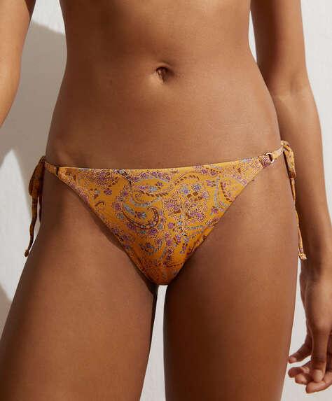 Paisley Brazilian bikini briefs