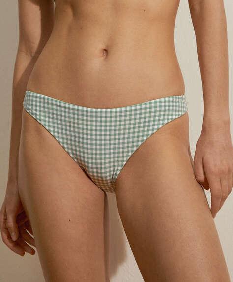Gingham classic bikini briefs