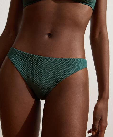 Structured classic bikini briefs