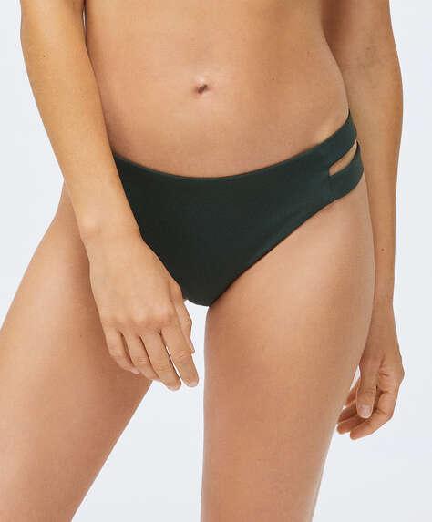 Strap detail hipster bikini briefs