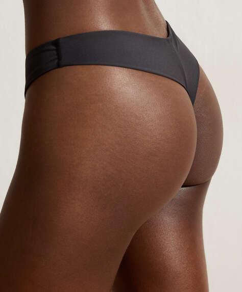 Bas de bikini tanga coupe V