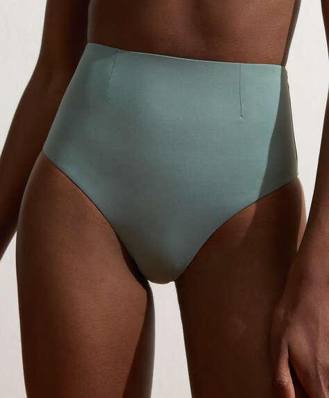 High-waisted classic bikini briefs