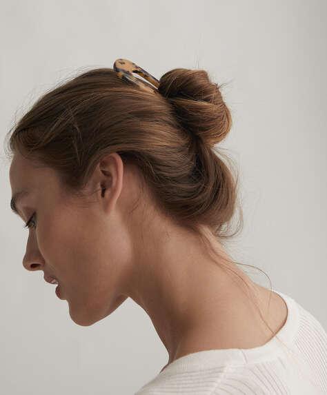 Tortoiseshell hair clip