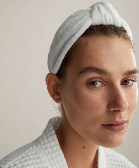 Self care towel head band