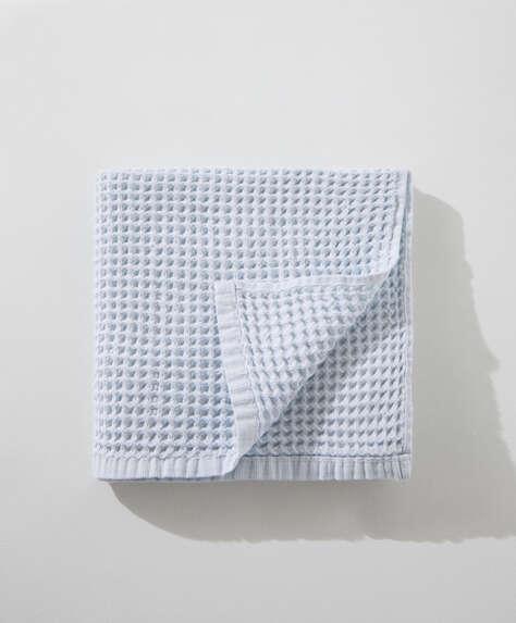 Serviette 100% coton gaufré