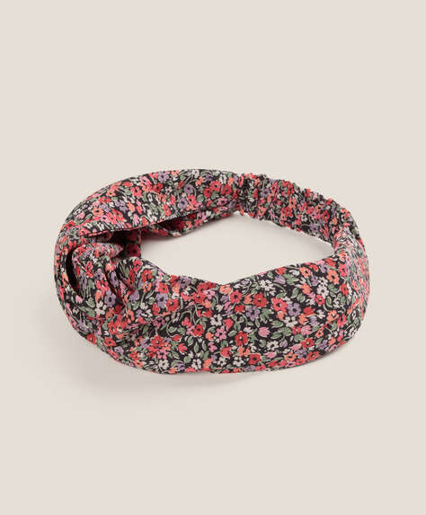 Confetti floral turban headband