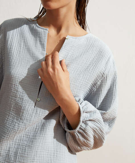 100% cotton volume shirt