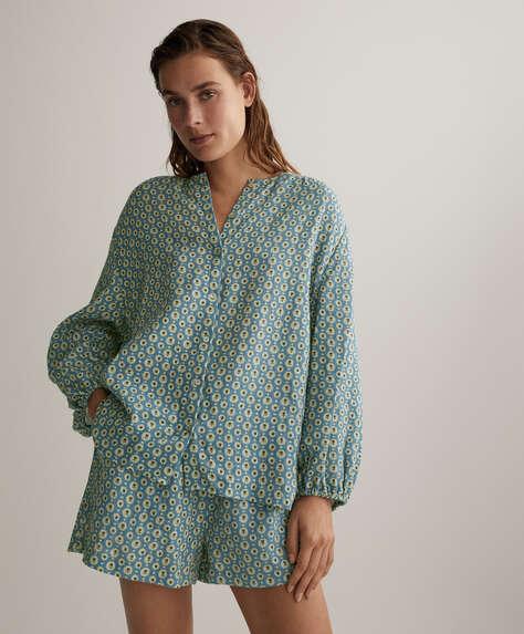 Сорочка зі 100% органічної бавовни на ґудзиках
