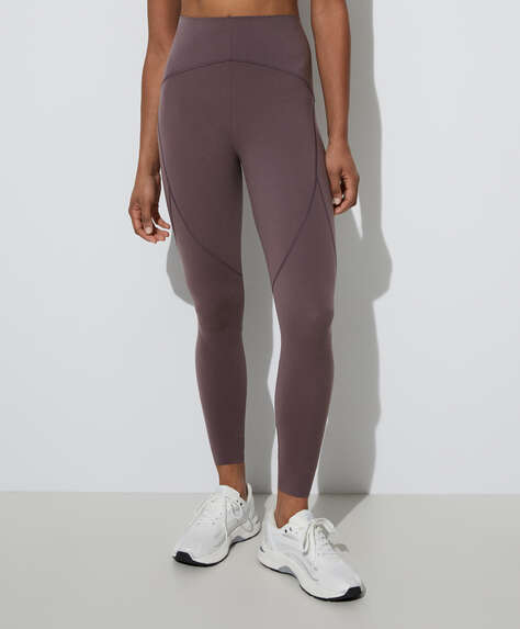 Compressive ankle-length leggings