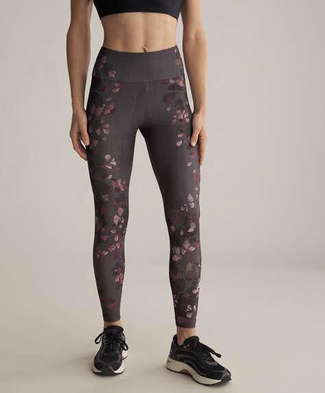 Floral print leggings