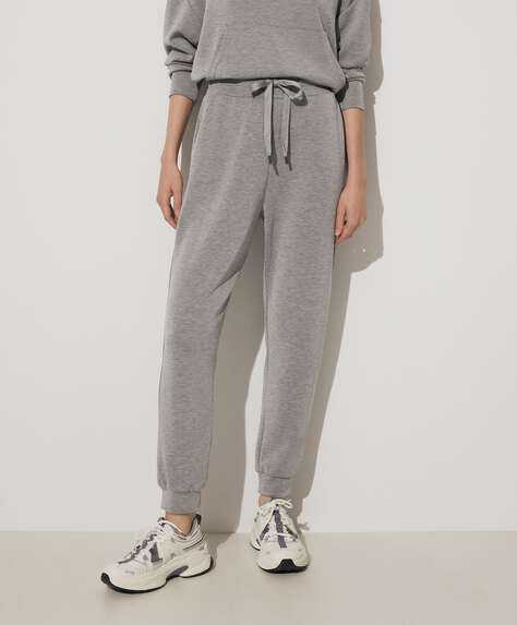 Soft-touch joggers
