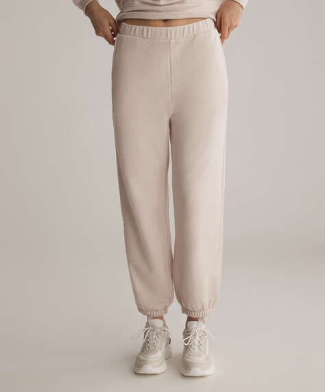 Modal cotton trousers