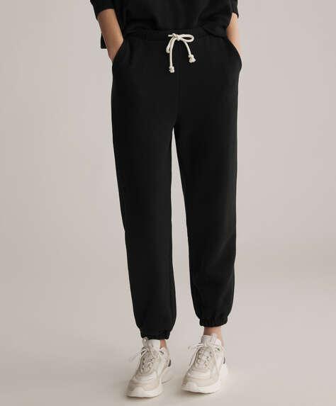 Pantalons de jòguing de cotó