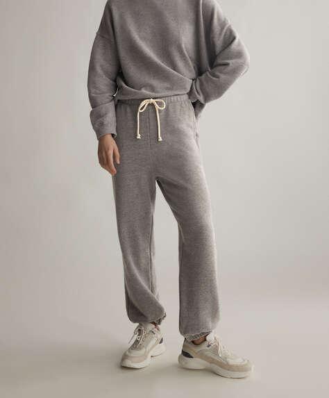 Pantalón jogger algodón