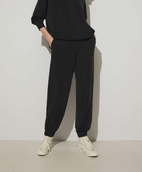Soft touch modal joggers