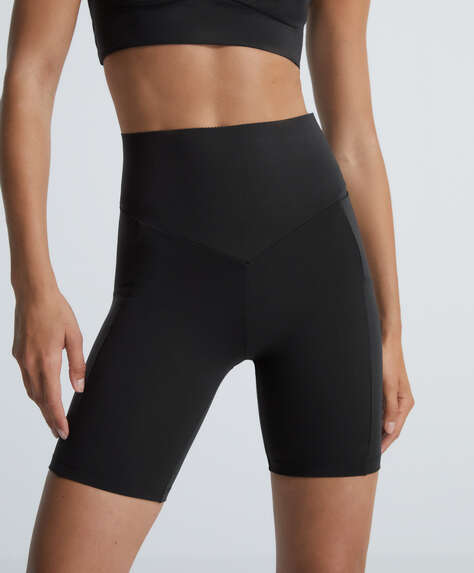 Leggings à poche cycliste compressive
