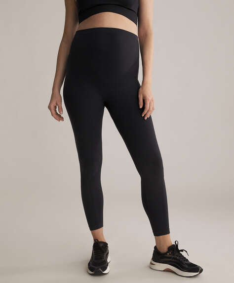 Seamless maternity leggings