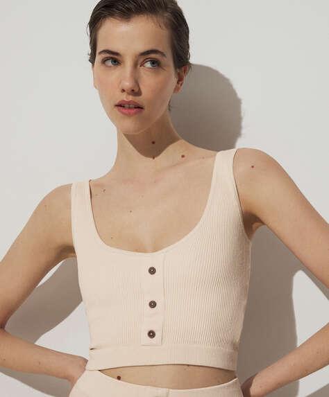 Camiseta seamless algodón