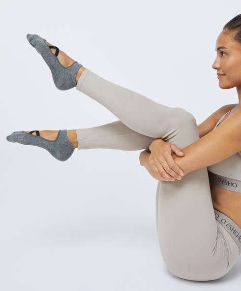 2 çift yoga ve pilates çorabı