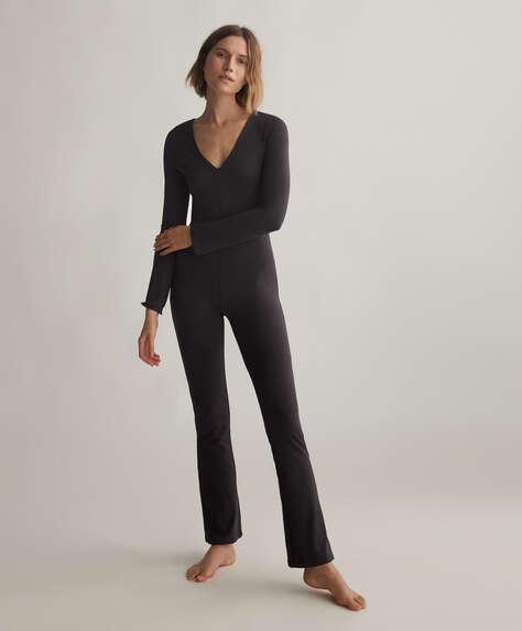 Comfort flare jumpsuit