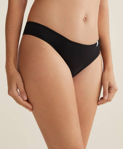 3 cotton Brazilian briefs
