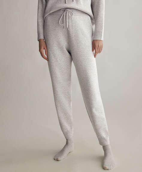 Pantalons llargs de punt