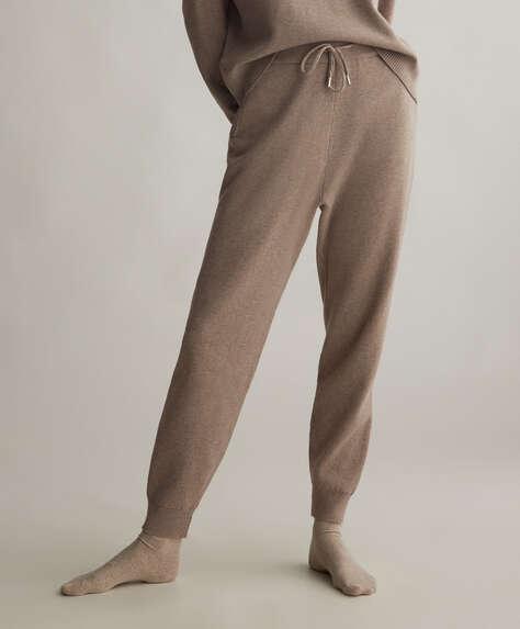 Lange bukser i strik