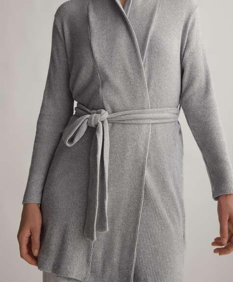 Chaqueta gris comfort feel